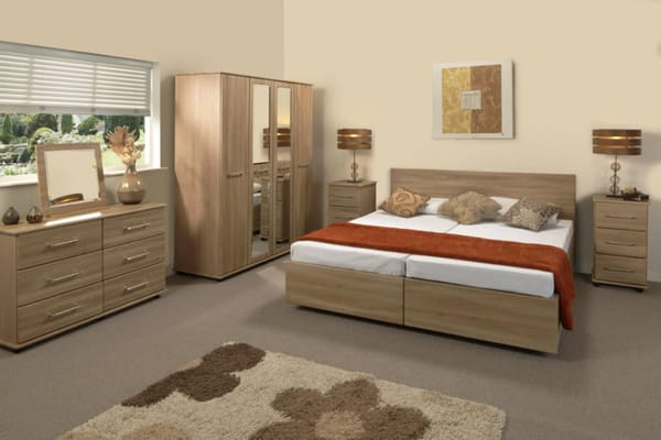 Bello Sonno Companion Double Bed - Roomset
