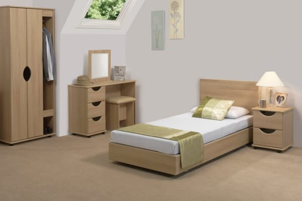 Bello Sonno Low Single Bed - Roomset