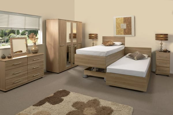 Bello Sonno Partner Double Bed - Roomset