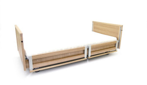 low profiling electric bed