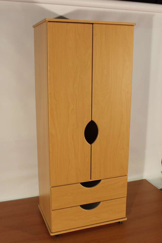 Clearance: Verona CD0 2 Door Wardrobe Beech