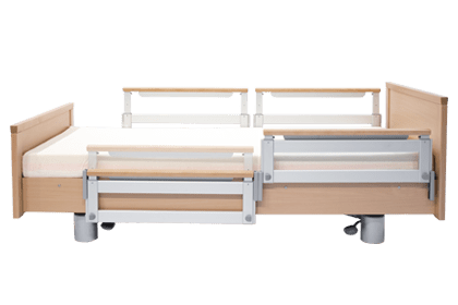 Vertically-adjustable split side rail (VGS)