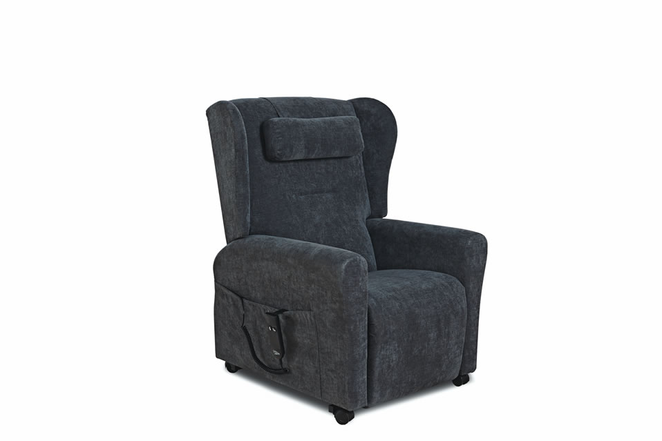 Wendover Plain Back Riser Recliner Chair with Wings