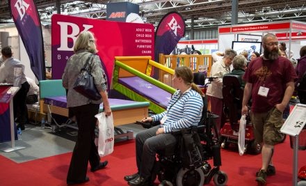 Images from Naidex 2018