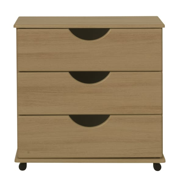 3 Drawer Wide Chest - 33D