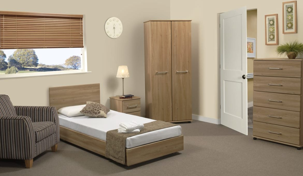 Bello Sonno Single Profiling Bed - Roomset