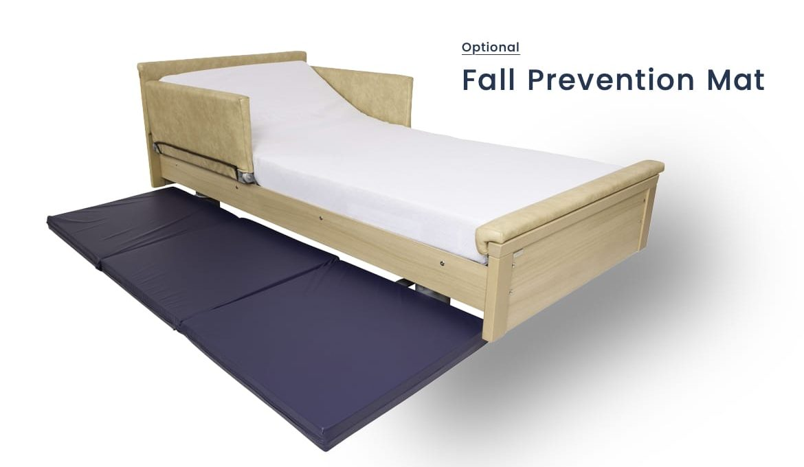 Dementia Low Bed - Fall Prevention Mat