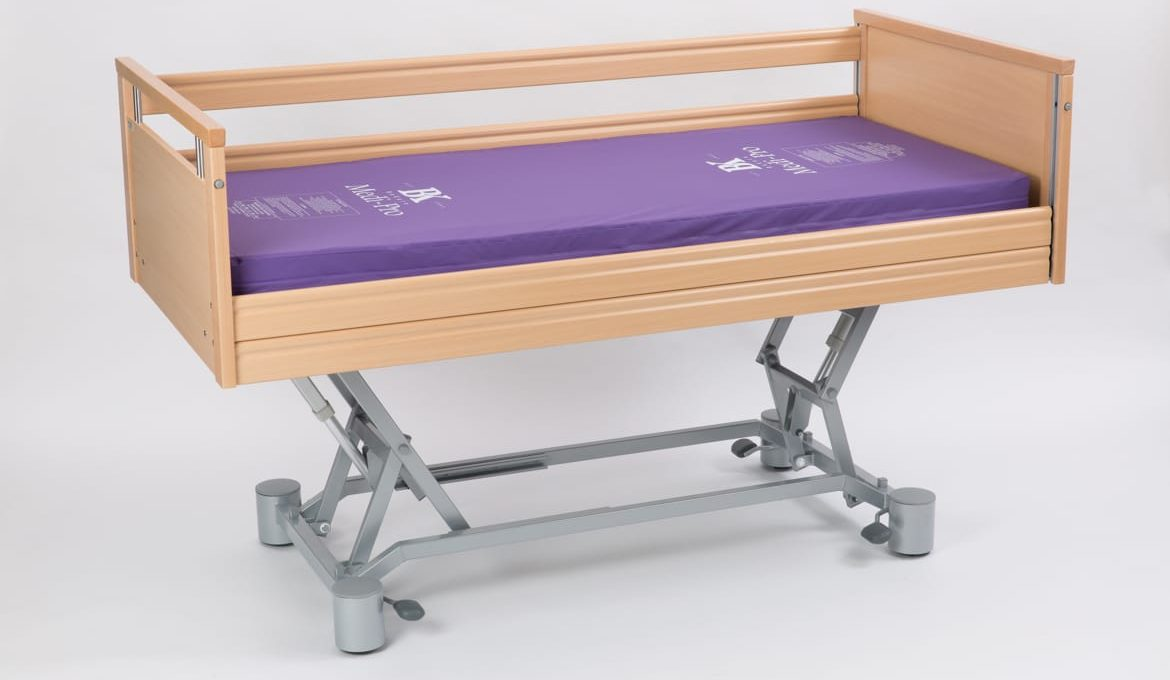 Evolution 400 Duo Profiling Bed - Height Adjusted Side Rail Down