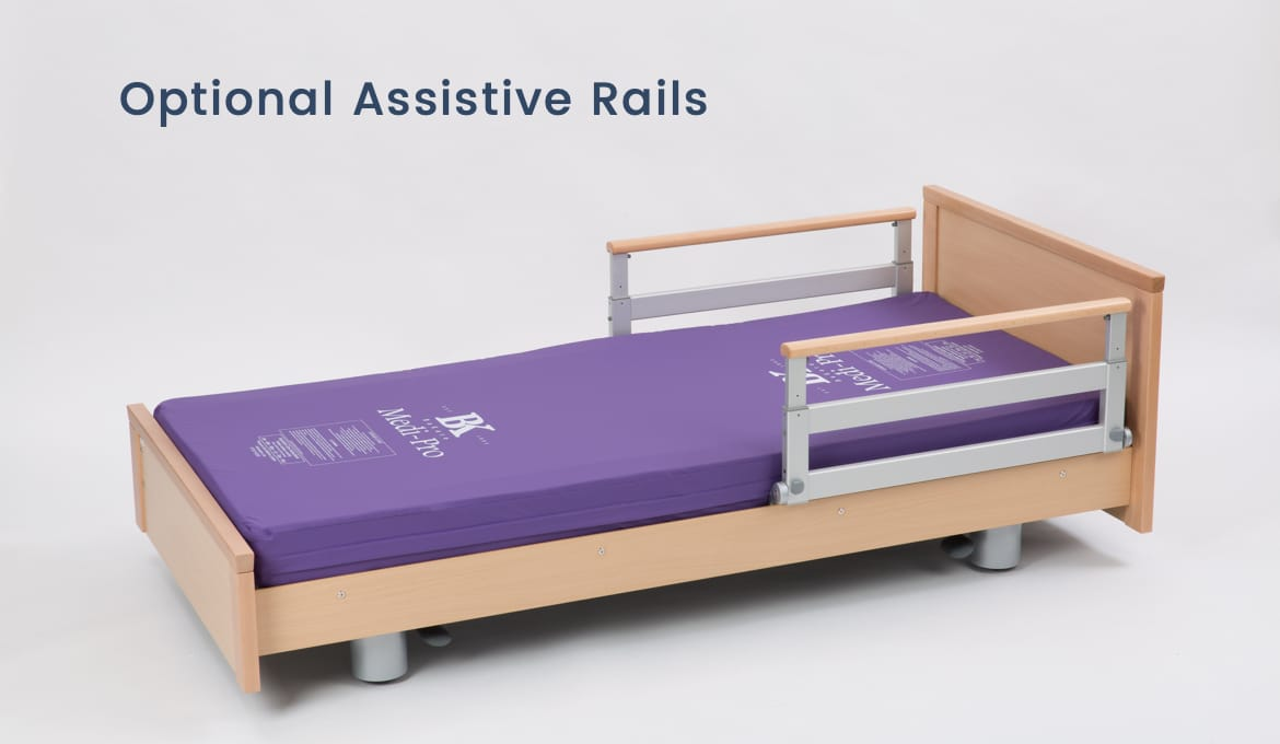Evolution 400 Residential Profiling Bed - Assistive Rails