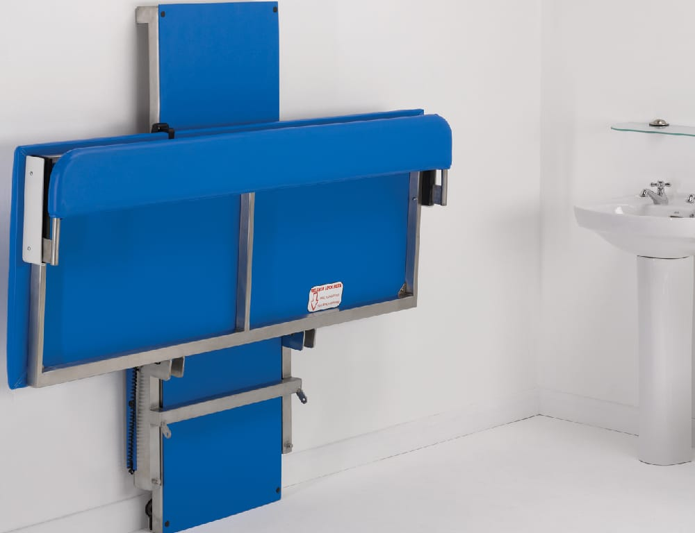 Hi-Riser Changing Bench - Folded